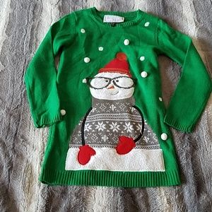 Other - Girls Snowman Sweater size 10/12